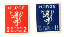 Mint Never Hinged/MNH Norwegian Stamps