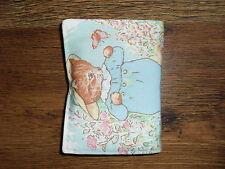 Handmade crayon & notepad set with 6 crayons - Beatrix Potter (2) Kitten Tom
