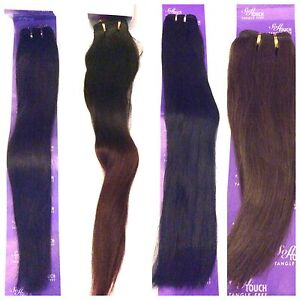 100% HUMAN HAIR - LA TREND 12, 14, 18, 20 INCHES SILKY STRAIGHT WEAVES