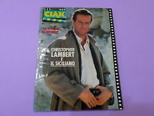 CIAK n.10 del 1987 CON SCHEDE FILM Christopher Lambert è IL SICILIANO