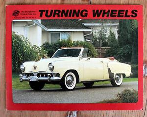 Studebaker Turning Wheels Magazine, February 2002 Vol 34 No 2 Anniversaries