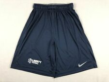 Liberty Flames Nike Shorts Men's Navy Poly New Multiple Sizes
