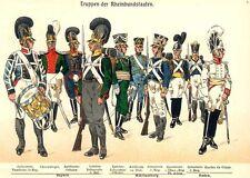Plaques uniforme prussien 314 napoléonienne 376 uniformes