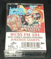 Jukebox Giants: WCBS New York, Vol. 1  CASSETTE TAPE OOP