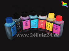 7x 250ml 250 ml Encre Ink Canon IP pixma i990 I 990 red BCI - 6bk - 6r C y M pc pm