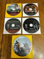 PS3 Sony PlayStation 3 DISC ONLY Games Lot-3 Fast Shipping