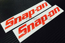 Snap On Stickers Decals Auto Car Mechanic Repair Project Tools FREE SHIPPING x 2