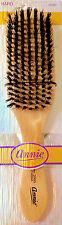 Annie Beard Brush Wooden Natural Boar Bristle Hard Club Woods Hair Brush  - 2060