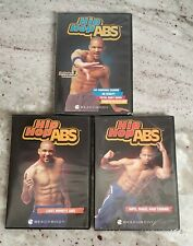 Shaun T. DVDs Hip Hop ABS-Fat Burning Cardio, Last Minute ABS, Hips Buns Thighs