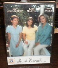 New Sealed About Sarah (DVD, 1998, Fremantle)f1 Kellie Martin Rare & OOP