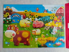 Puzzle 24 large pieces, Jigsaw for children . Funny animals.