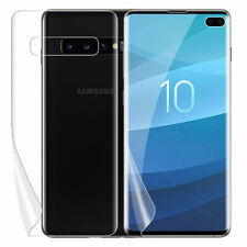 Samsung Galaxy S10 S10e S10 Plus HD Soft Full Cover Front Back Screen Protector