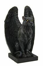 Winged Jaguar Gargoyle Figurine