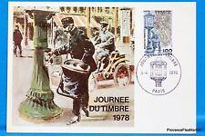 LE FACTEUR EN 1900  FRANCE  Carte Postale Maximum FDC Yt C 2004