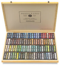 Sennelier Soft Pastels - Professional Artists Pastels - 100 Wooden Box Landscape