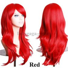 Fancy Cosplay Hair Wig Long Curly Wavy Straight Women Anime Wig Party Costume af