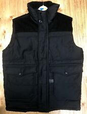 G Star Raw A Crotch Outdoor Vest in Black Various Sizes Water Repellant NWT