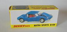Repro Box Dinky Nr.1403 Matra M 530 Sports