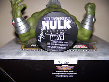 Marvel Comics INCREDIBLE HULK MAESTRO BUST LOW #7 Autographed by RANDY BOWEN