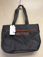 Nautica Maritime Tote/Carry Bag Color Grey/Orange MSRP$110