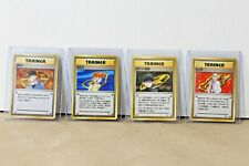 VINTAGE Pokemon TCG - Brock Misty Blaine Rocket TRAINERS - Japanese Gym Heroes