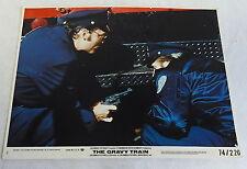 1974 THE GRAVY TRAIN #4, 74/200 STACY KEACH & OTHER POLICE OFFICER lobby card