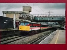 PHOTO  CLASS 87 ELECTRIC LOCO NO 87031 AT STAFFORD 6/4/99
