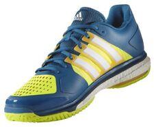 Adidas Energy Boost Tennis Court Shoes Men's 7 Women's 8.5 Blue Yellow New