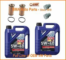 2 x OEM VW/Audi Oil Change Kits  for 2.0 & 2.5L Jetta, Beetle, Golf, GTI, A4, A3