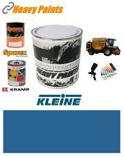 More details for kleine machinery blue paint high endurance enamel paint 1 litre tin