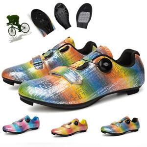 Autumn Road Bicycle Sneakers Professional Mountain Self-Locking Biking Shoes New