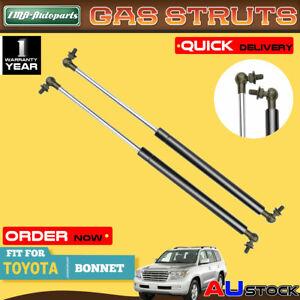 2x Bonnet Hood Gas Strut Springs for Toyota Land Cruiser Pardo 120 2002-2009