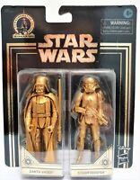 "Star Wars Darth Vader Stormtrooper Commemorative Edition Skywalker Saga Gold 4"""