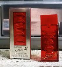 SALVADOR DALI RUBY RED LIPS MINI .12 OZ NEW IN BOX NIB