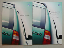 Prospekt Volkswagen VW Polo Variant, 1.1998, 52 p. + datos técnicos/ausstatt.