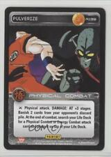 2015 Panini's Dragonball Z TCG - Set 3: Movie Collection R139 Pulverize Card 0b5