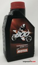 Aceite Mezcla Moto 2T Premix Ester MOTUL 800 2T Supersport Competicion, 1 Litro