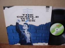 ACTING COMPANY – CRADLE WILL ROCK UK '85 LP US STAGE MUSICAL M- Marc Blitzstein