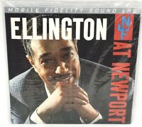 Duke Ellington And His Orchestra At Newport MFSL LP Vinyl Reissue New Sealed