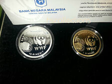 Malaysia WWF Proof Coin Set of 2 2011