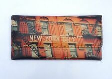 New York Wallet Women's Leather Purse Manhattan Wallet New York Gifts NYC