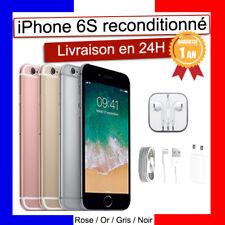 APPLE IPHONE 6S 16 GO 64 GO BON ETAT ROSE ARGENT NOIR OR DEBLOQUE RECONDITIONNE
