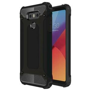 Shockproof Heavy Duty Durable Hard Case [Drop Protection] Bumper Cover for LG G6