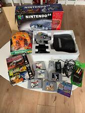Nintendo 64, 2 Controller, 7 Spiele, Rumble Pack