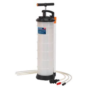 SEALEY TP69 MANUAL VACUUM OIL & FLUID EXTRACTOR SYPHON PUMP 6.5 LITRE