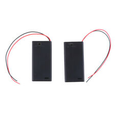 2Pcs 3V 2 Aa Battery Holder Case with On/Off Toggle Switch Box Pack Cover Oj