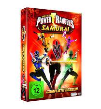 POWER RANGERS - SAMURAI Complete Series SERIE COMPLETA Caja de DVD NUEVO