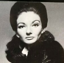 Maria Callas Print Ad BLACKGLAMA What Becomes a Legend Most?