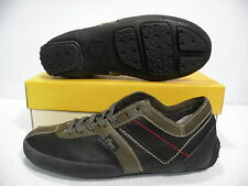 PONY PLATON LOW CHEVRON MEN SHOES BLACK/DARK OLIVE 9752 SIZE 6.5 NEW