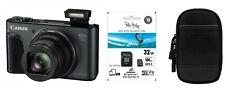 Canon Powershot SX730 HS Schwarz + Zubehörpaket : 32GB SDHC + original Tasche !